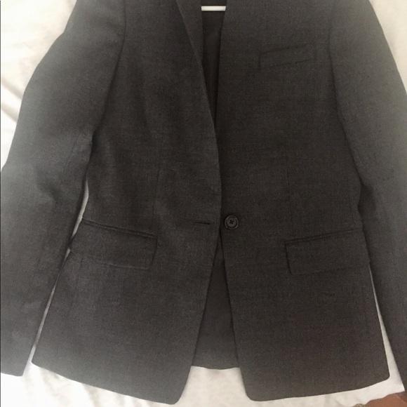 J. Crew Jackets & Blazers - J. Crew Blazer, Charcoal Grey, Size 2, Slim Fit